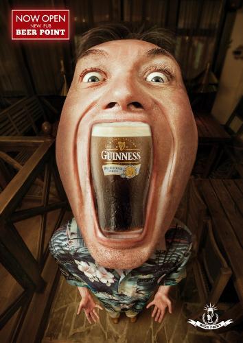Реклама сети пабов Beer Point