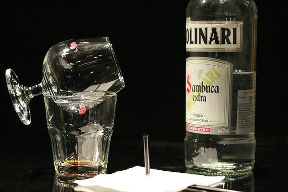Как правильно пить самбуку 2