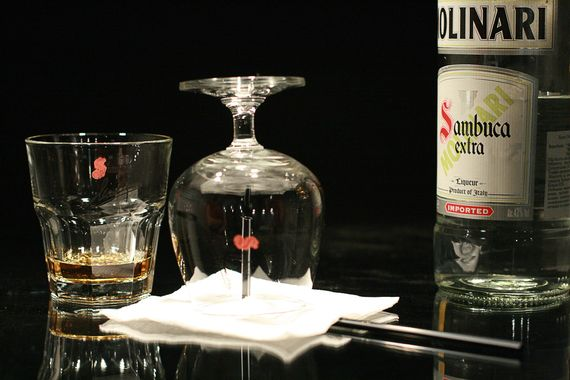 Как правильно пить самбуку 6